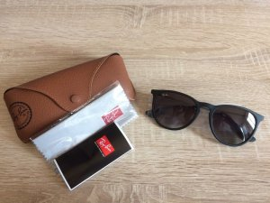 Ray Ban Gafas Retro negro metal