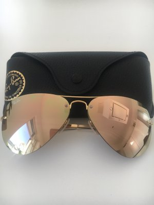 Ray Ban gold mirror