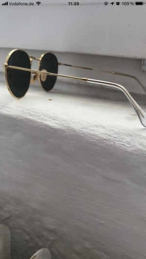 Ray Ban Golden Metal