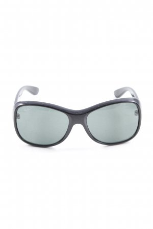 Ray Ban Karée Brille schwarz Elegant
