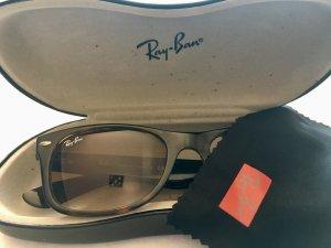 Ray Ban New Wayfarer 710/51 Sonnenbrille braun (shiny havana) Größe M