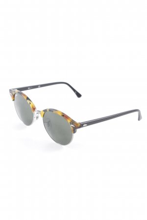 Ray Ban ovale Sonnenbrille Animalmuster Animal-Look