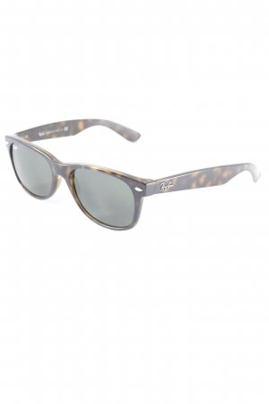 Ray Ban Ovale zonnebril donkerbruin-bruin casual uitstraling