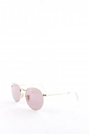 Ray Ban Occhiale da sole ovale oro-rosa antico Stile Boho