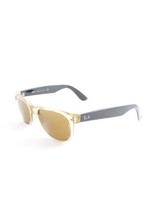 Ray Ban Gafas de sol ovaladas negro-marrón claro look Street-Style