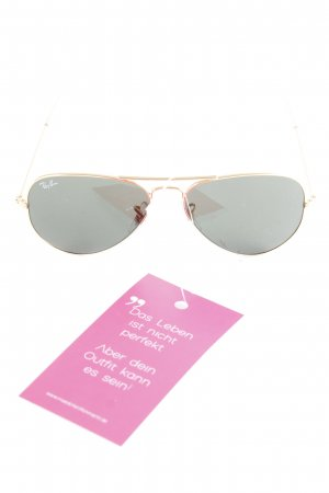 "Ray Ban Pilot Brille ""Aviator Large Metal"" goldfarben"