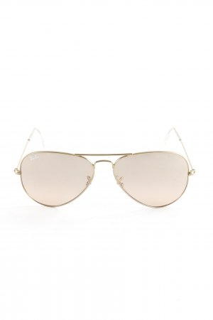 "Ray Ban Pilot Brille ""Aviator Large Metall"" goldfarben"