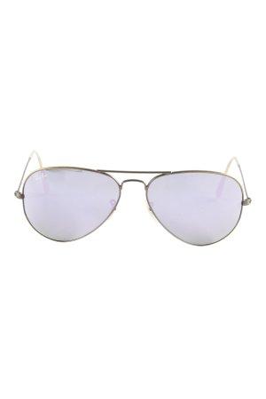 Ray Ban Pilot Brille bronzefarben-creme Transparenz-Optik
