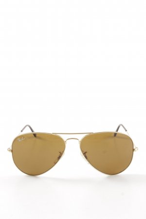 "Ray Ban Pilot Brille ""aviator large metal"" braun"