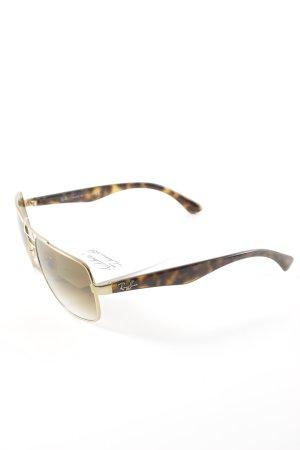 Ray Ban Pilotenbril goud casual uitstraling