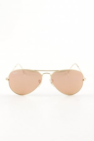 Ray Ban Aviator Glasses gold-colored casual look