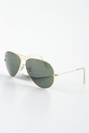 Ray Ban Pilot Brille goldfarben-khaki Casual-Look