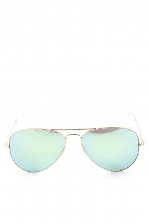 "Ray Ban Pilot Brille ""RB3025 Aviator Large Metal 112/19"" goldfarben"