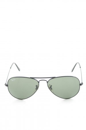 Ray Ban Pilot Brille schwarz-anthrazit Beach-Look