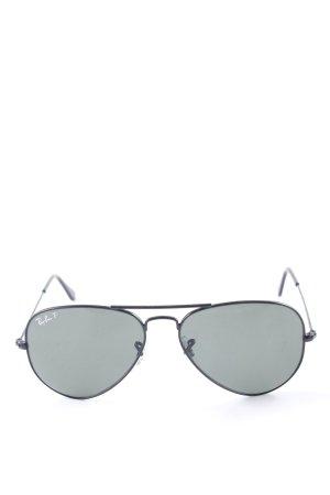 Ray Ban Pilot Brille schwarz klassischer Stil