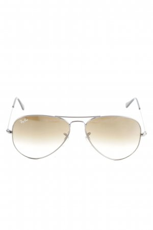 Ray Ban Aviator Glasses silver-colored casual look