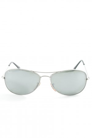 Ray Ban Aviator Glasses silver-colored classic style