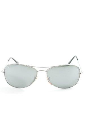 Ray Ban Gafas de piloto color plata estilo clásico