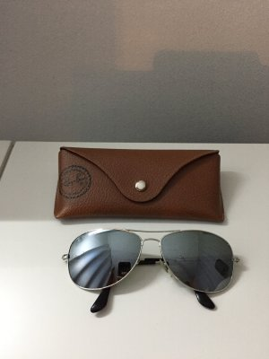 Ray Ban Aviator Glasses silver-colored-grey