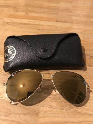 Ray Ban - Pilotenbrille - Gold verspiegelt