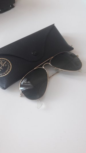 Ray Ban Bril goud-donkergroen