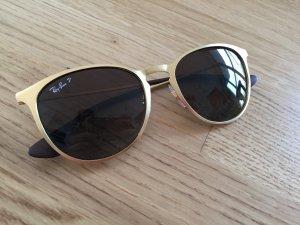 Ray Ban Pilotenbrille Polarisiert Model ERIKA METAL in Gold