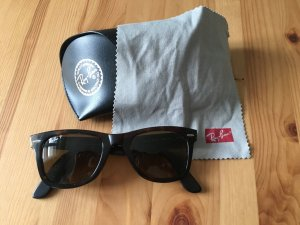 Ray Ban polarized Sonnenbrille, dunkelbraun, Original Wayfarer