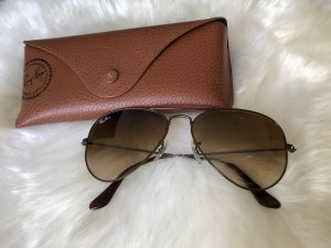 Ray Ban RB 3025 Aviator Large Metal braun