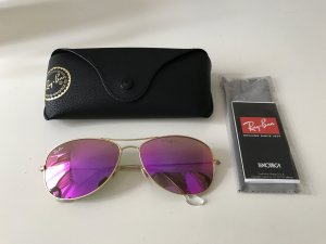Ray Ban Glasses gold-colored-pink