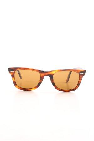 Ray Ban Retro Glasses bronze-colored-light orange business style
