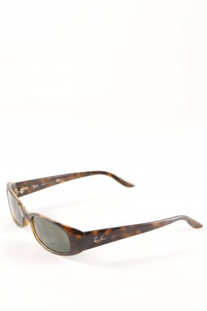 Ray Ban Retro Brille braun-hellbraun Retro-Look