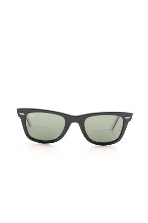 Ray Ban Retro Glasses black casual look