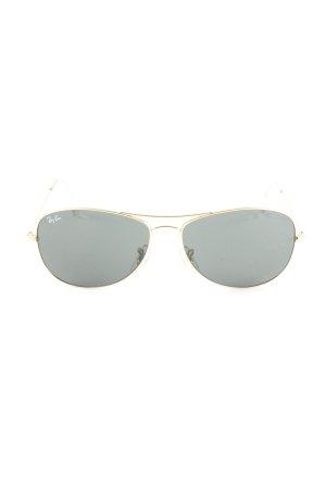 Ray Ban Retro Brille goldfarben-schwarz klassischer Stil