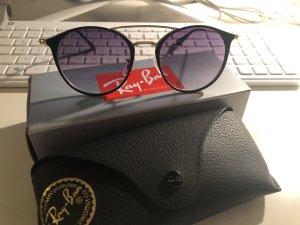 Ray Ban Retro schwarz Gold Sonnenbrille
