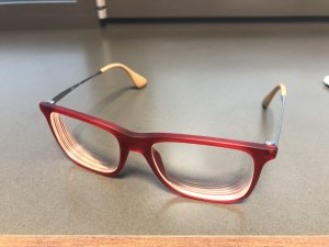 Ray Ban Glasses silver-colored-red