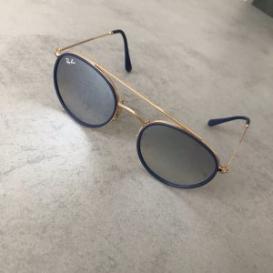 Ray-Ban Round Double Bridge Sonnenbrille