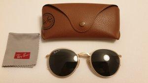 Ray Ban Gafas de sol redondas color bronce-color oro