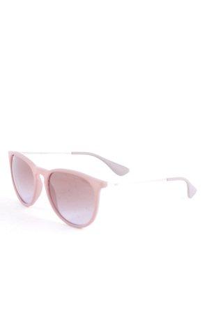 Ray Ban runde Sonnenbrille grau Casual-Look