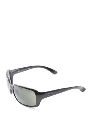 Ray Ban Ronde zonnebril zwart casual uitstraling