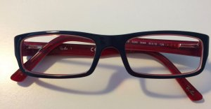 Ray-Ban RX 5246 5088 blue on red