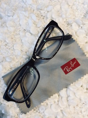 Ray Ban Glasses dark brown-light grey