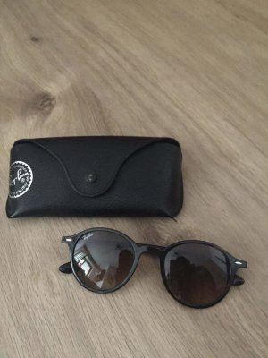 Ray Ban Oval Sunglasses light brown
