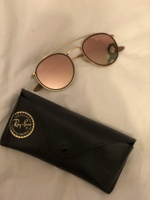 Ray Ban Round Sunglasses gold-colored-rose-gold-coloured