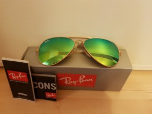 Ray Ban Gafas de sol color oro