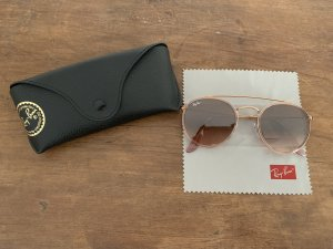 Ray Ban Aviator Glasses gold-colored-brown