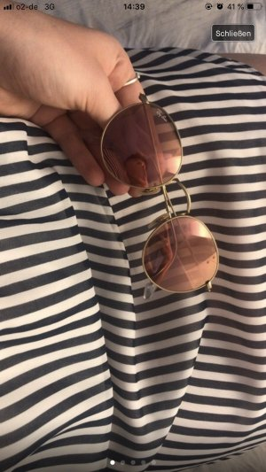 Ray Ban Glasses rose-gold-coloured-gold-colored