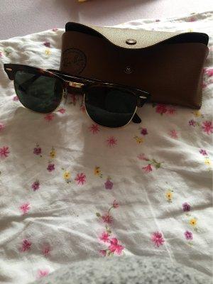 Ray Ban Round Sunglasses brown
