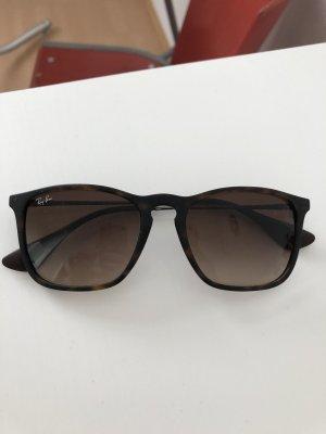 Ray Ban Gafas de sol cuadradas marrón-negro