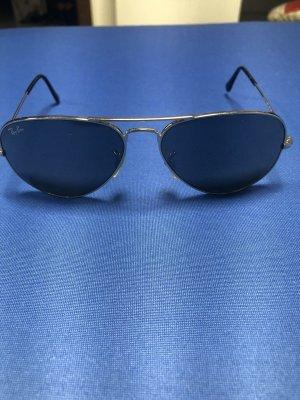 Ray Ban Retro Glasses silver-colored