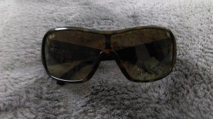 Ray Ban Glasses black brown-cognac-coloured